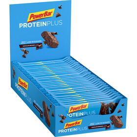 PowerBar ProteinPlus Bar Box 30 x 35g, Chocolate Brownie